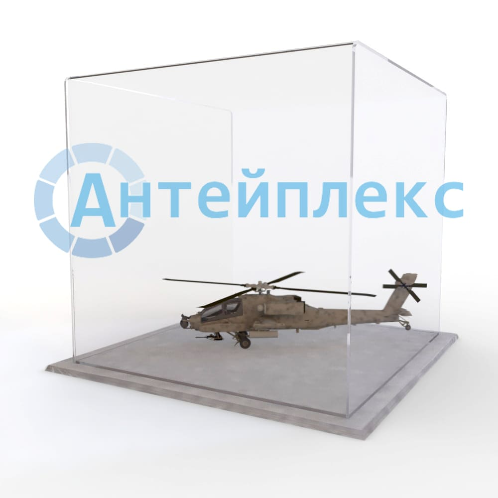 колпак из оргстекла для макета вертолёта