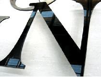 лазерная резка черного оргстекла 3мм