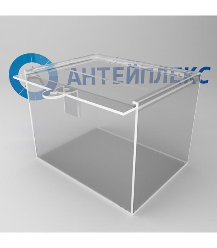 Ящик для пожертвований с петельками под замочек
