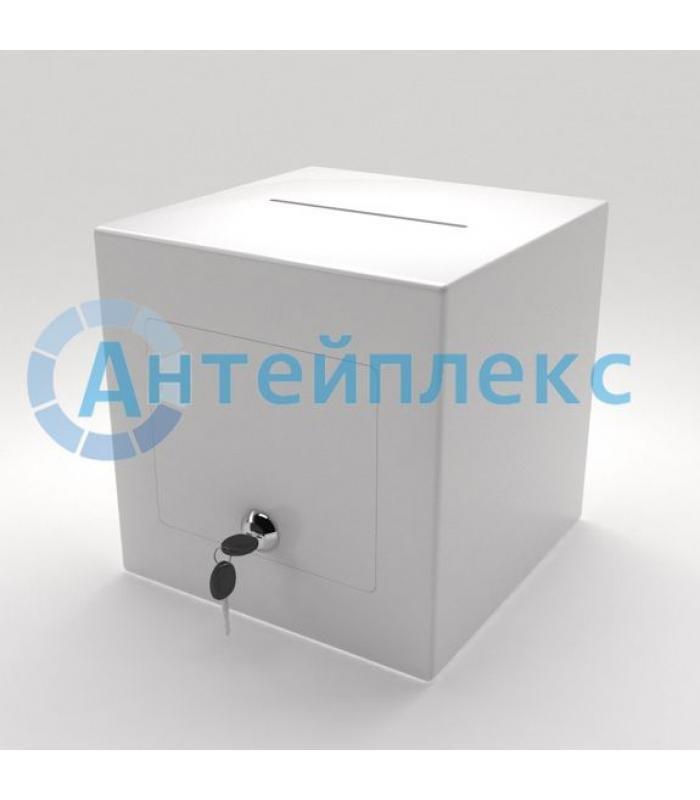 Ящик для пожертвований непрозрачный