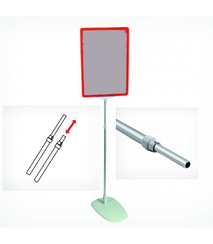 Информационная стойка с пластиковым основанием, 900 мм
