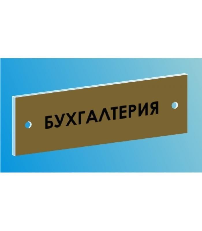 Табличка настенная с фоном